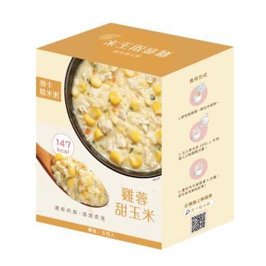 iFit 微卡糙米粥- 雞蓉甜玉米(36g*5包/盒)-廠送