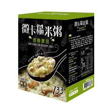 iFit 微卡糙米粥- 香椿蕈菇(36g*5包/盒)-廠送
