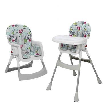 Vibebe-二階段式折疊餐椅-清新花草-廠送