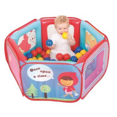 Vibebe 小紅帽氣墊球屋(附贈100顆球及收納袋)-廠送