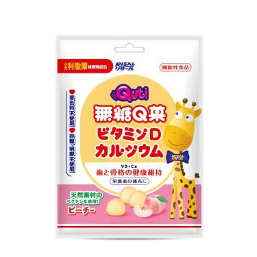 小兒利撒爾-Quti無糖Q菓(水蜜桃)50g/包
