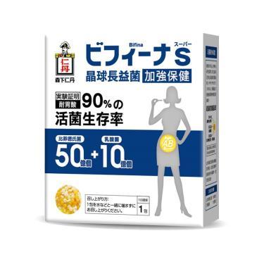 日本森下仁丹 晶球長益菌50+10加強保健(30條/盒)