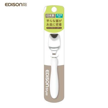 日本EDISON 幼兒學習湯匙(白色)-廠送