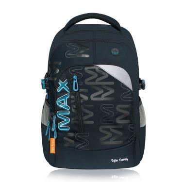 TigerFamily MAX超輕量護脊書包-夜幕黑藍-廠送