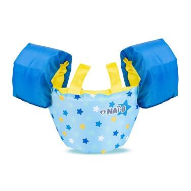 Nai-B 奈比 兒童漂浮夾克(點點藍)-(廠送)