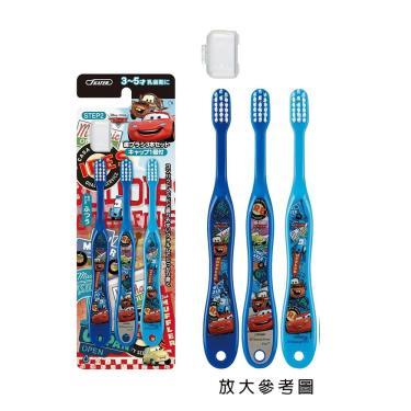 日本SKATER-兒童牙刷-3入組-閃電麥坤(3~5歲)