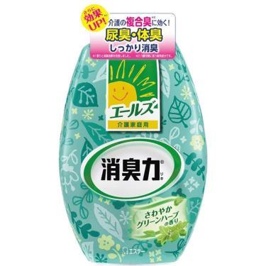 ST雞仔牌-部屋消臭力-抗尿味體臭-除臭-(清爽綠草香400ml)