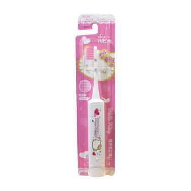 日本 Hapica HelloKitty兒童電動牙刷(白色)