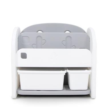 韓國iFam 白色書架收納組(2個收納盒)-廠