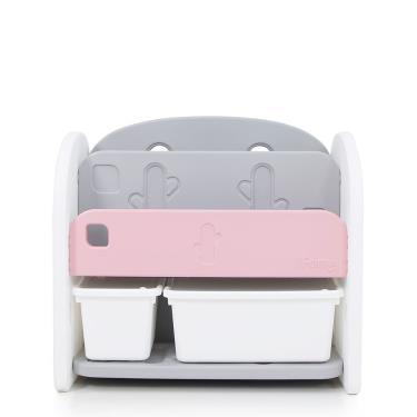 韓國iFam 粉紅色書架收納組(2個收納盒)-廠