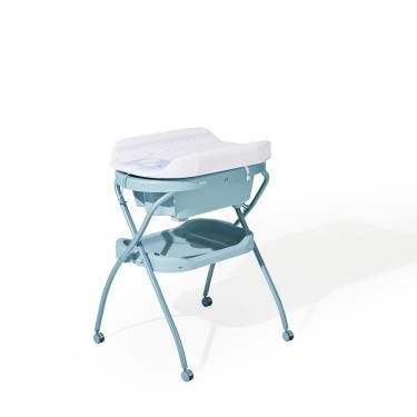 韓國iFam 多功能洗澡尿布台-藍色-廠