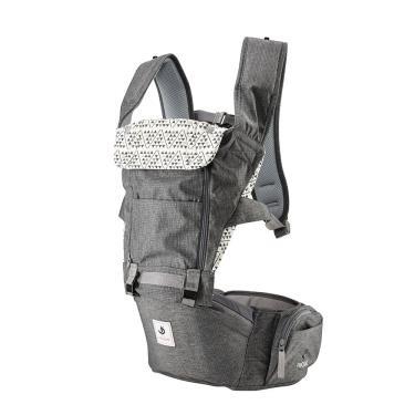 ALL NEW NO.5升級版機能型坐墊揹巾-經典東京灰-廠送
