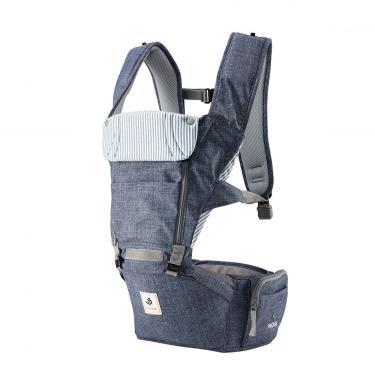 ALL NEW NO.5升級版機能型坐墊揹巾-復刻牛仔藍-廠送