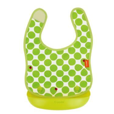 COMBI-新防污口袋圍兜-綠瓢蟲-15592