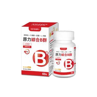 悠活原力 綜合維生素B群 緩釋膜衣錠 60粒/瓶