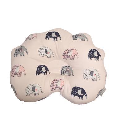 PAMABE小花凹型枕-粉彩小象-廠送
