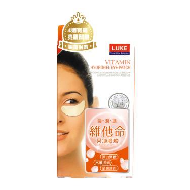 (買一送一) LUKE 維他命果凍眼膜(5對入/盒)