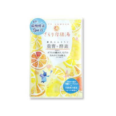 Charley 碳酸酵素舒膚入浴劑-柑橘香 30g