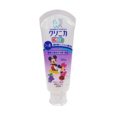 日本 LION可吞嚥幼兒牙膏(葡萄)60g