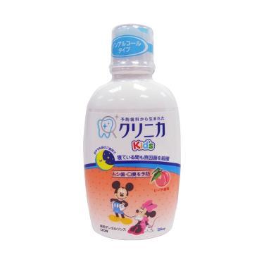 日本 LION兒童漱口水(水蜜桃)250ml