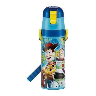 日本 SKATER兒童直飲式保冷瓶470ml-玩具總動員-廠送