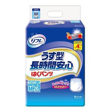 日本 利護樂 長時間安心薄型復健褲 M 20片x6包/箱(廠送)
