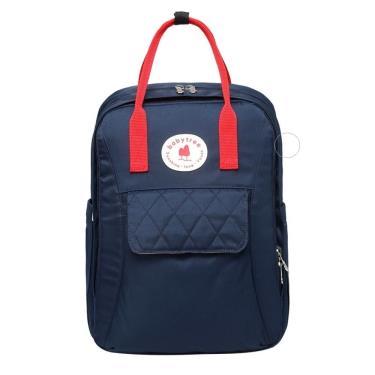 (附掛勾)【Babytree】B1108-2 後背包 多功能媽媽包 旅行包 雙肩背包 (藏藍色)-廠送