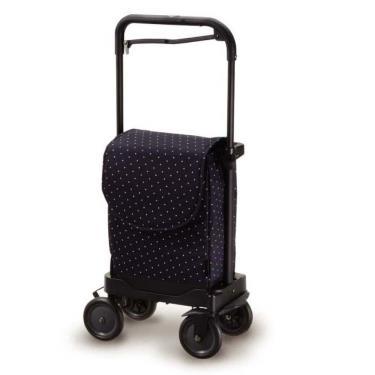 日本Richell利其爾 購物步行車-星空藍 廠送