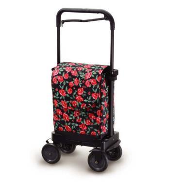 日本Richell利其爾 購物步行車-玫瑰 廠送