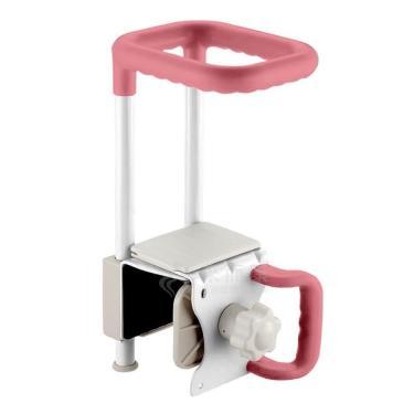 日本Richell利其爾 浴缸輔助扶手-寬大型-粉色 廠送