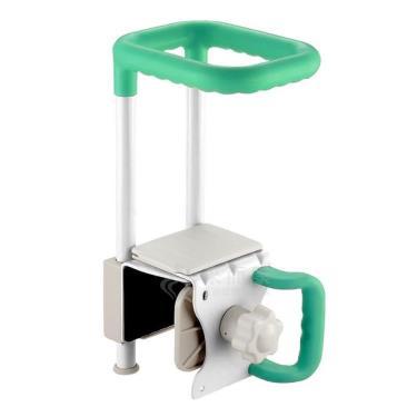 日本Richell利其爾 浴缸輔助扶手-寬大型-綠色 廠送