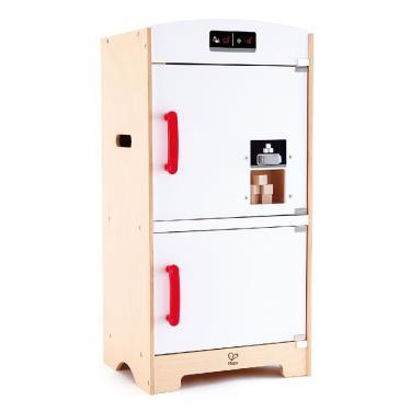 Hape 愛傑卡 木製雙門冰箱家家酒 (廠)