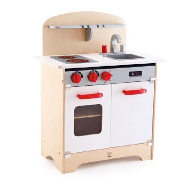 Hape 愛傑卡 木製德式烹調美食廚房玩具 (廠)