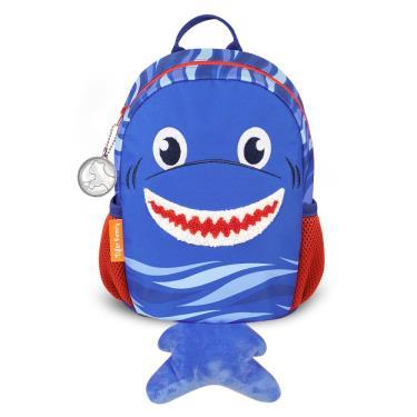 TigerFamily 抱抱好朋友3D幼兒背包-鯊魚寶貝 廠送