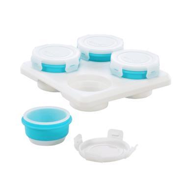 2angels矽膠副食品儲存杯 60ml(4入)