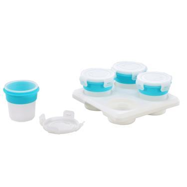 2angels矽膠副食品儲存杯 120ml(4入)