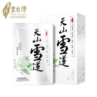 豐台灣 天山雪蓮細緻雪白天絲面膜 (5入)