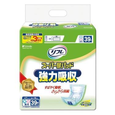日本 利護樂 加強型替換式尿片39片x6包/箱(廠送)