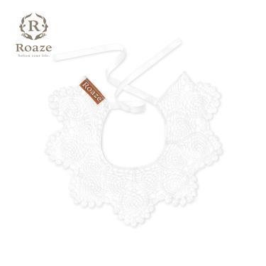 Roaze 柔仕 典雅圍兜 花朵刺繡