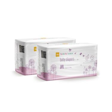 YOME  PEEKAPOO Taiwan 超輕薄紙尿褲 旅行裝體驗組M號(12片x2包)-廠送