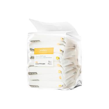 YOME  PureBaby 99.9% 抗菌濕巾 10抽x8包(單串包裝)-廠送