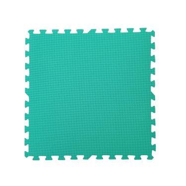 新生活家 EVA運動安全地墊-綠色62x62x1.3cm 12入 廠送