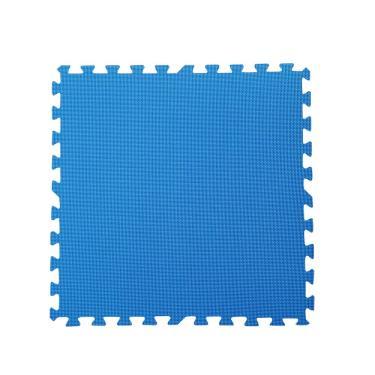 新生活家 EVA運動安全地墊-藍色62x62x1.3cm 12入 廠送