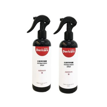 【Doricare朵樂比】抗菌潔淨噴霧300ml-2入組 廠送