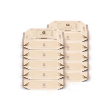 韓國ENBLANC  極柔純水濕紙巾72抽-輕厚松針 x10包-廠送
