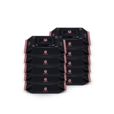 韓國ENBLANC  極柔純水濕紙巾70抽-極厚黑珍珠 x10包-廠送