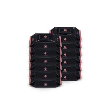 韓國ENBLANC  極柔純水濕紙巾20抽-極厚黑珍珠 x12包-廠送