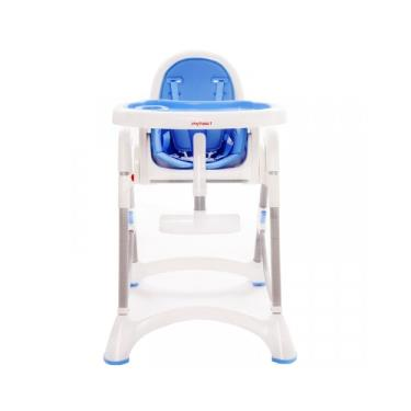 【myheart】折疊式兒童安全餐椅-天空藍 (廠送)