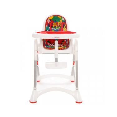 【myheart】折疊式兒童安全餐椅-卡通紅 (廠送)