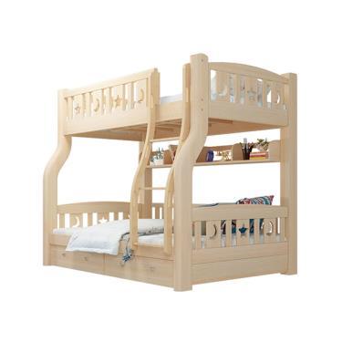 【HA Baby】上下舖床型 上漆爬梯款 120床型【裸床】- 廠送